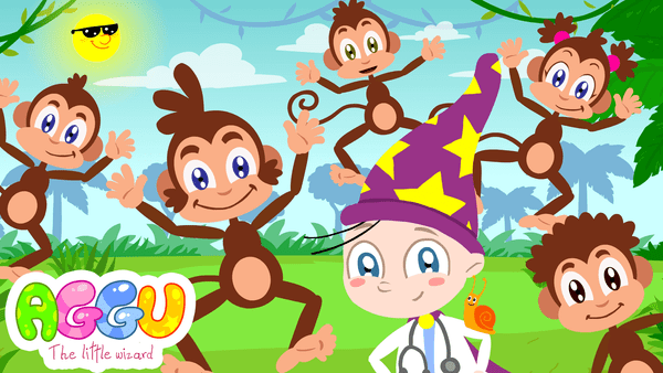 Aggu 5 Little Monkeys thumbnail